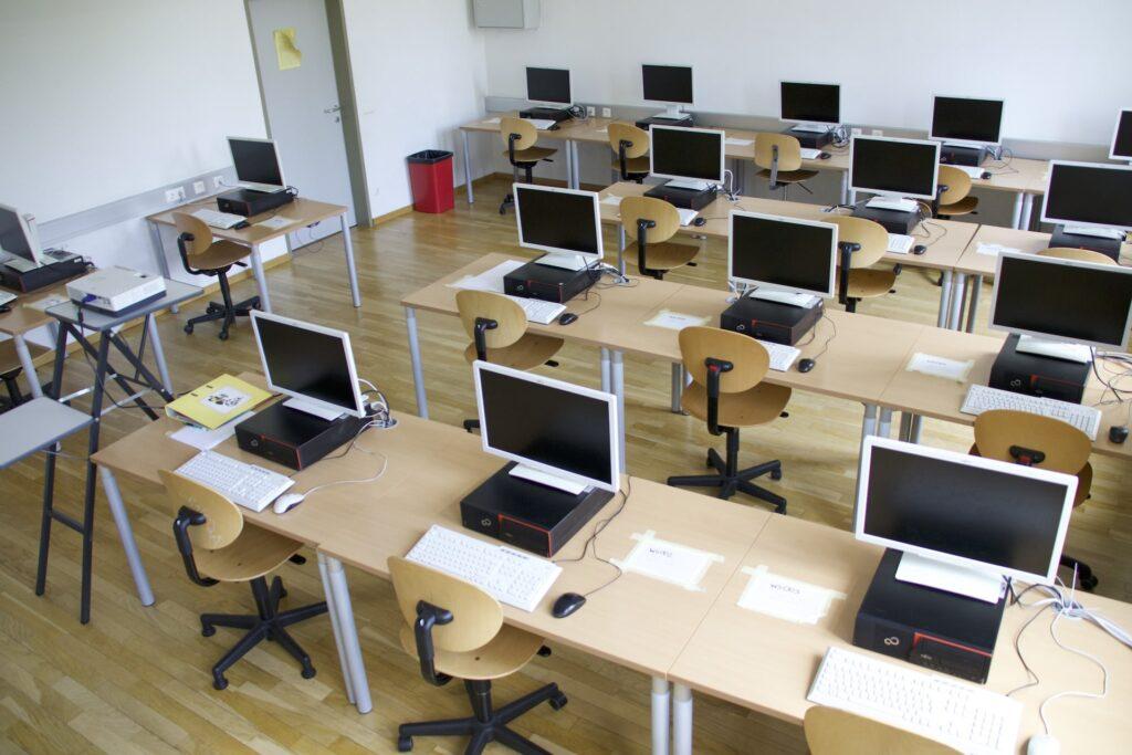 Moderne Informatikräume